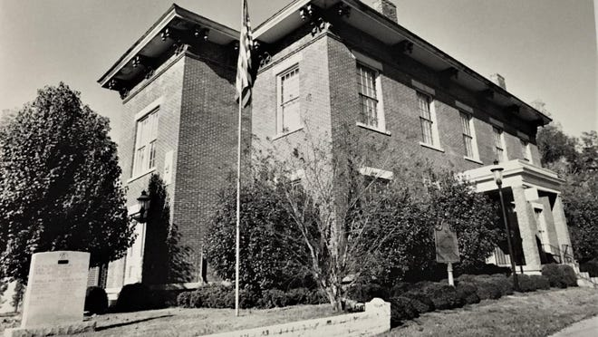 Columbia County courthouse in Appling, scene of 1924 verdict.