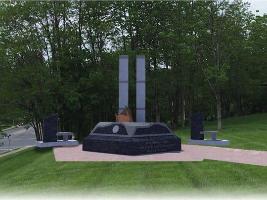 An artist's rendering of the Northern Kentucky 9/11