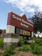 Grant Elementary School, at 425 W. Upham Street, is