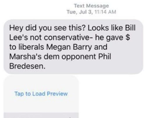Potentially illegal text messages attack Randy Boyd, Bill Lee as early voting begins