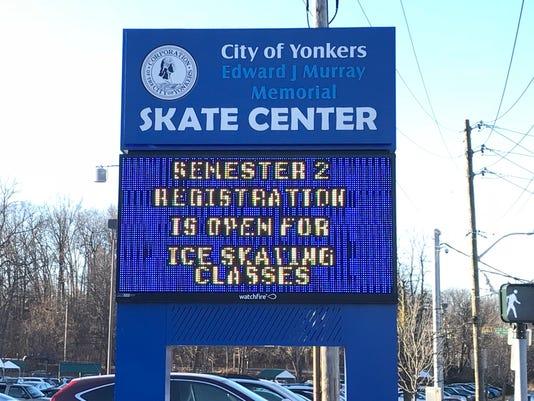 Yonkers skating rink