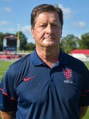 Teurlings head coach Sonny Charpentier has a career record of 189-58.