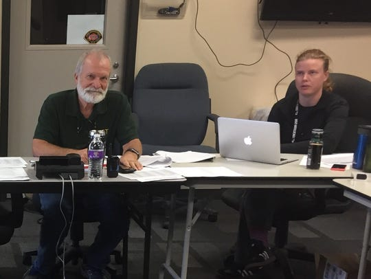 David Yandell and Martha Kools are set to field calls