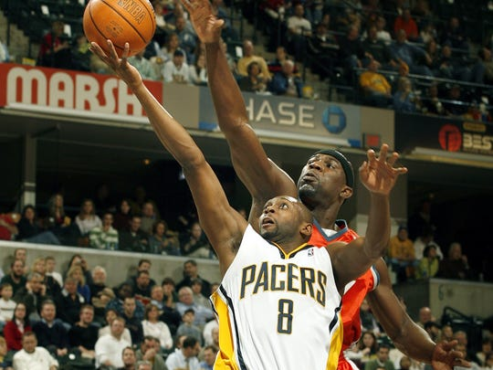 Most Pacers fans remember Anthony Johnson for his 40-point output against the Nets in the playoffs.