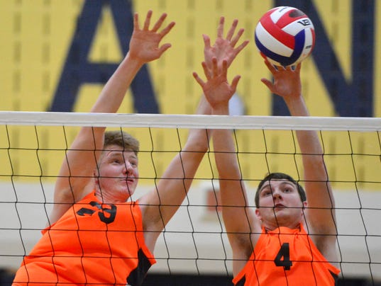 PHOTOS: York Suburban vs Daniel Boone in District 3 volleyball semi-finals