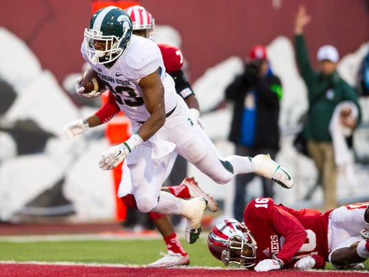 Freshman QB Diamont, Hoosiers no match for No. 8 Spartans