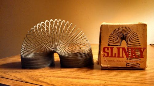 Judith Arnold's Slinky. (Photo: Judith Arnold)