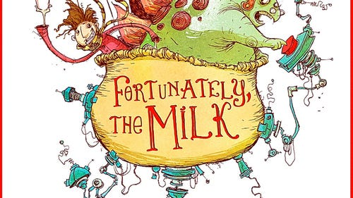 First look: Book trailer for Neil Gaiman's 'Fortunately, The Milk'