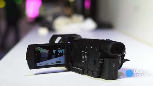 CES 2014: First look at Sony's 4K camcorder