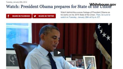 Obama uses social media for SOTU buzz | SocialEyes