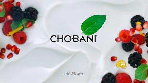 "Chobani, ""How Matters"""