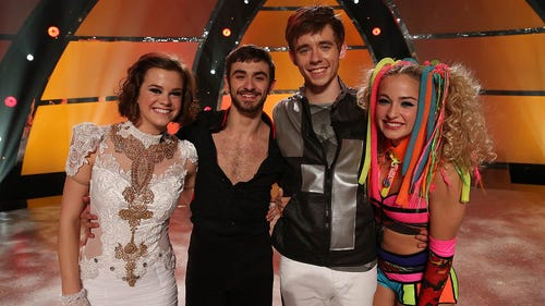 SYTYCD Top 4 dancers: Valerie, Ricky, Zack and Jessica. (Photo: Fox)