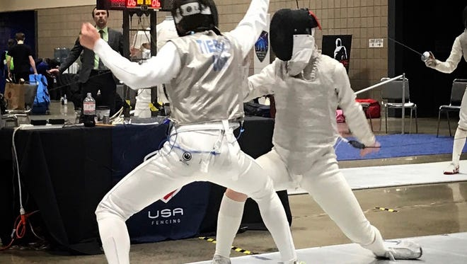 Barron Collier sophomore David Tierney, 15, finished 11th of 279 fencers in the Y-14 age group at the U.S. summer national tournament in Salt Lake City, Utah.