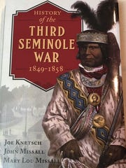 """History of the Third Seminole War,"" written by Joe"