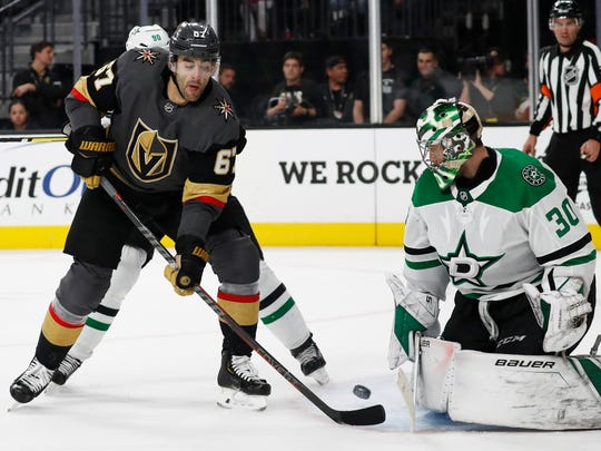 Former Wolverines forward Max Pacioretty is in his first season with Vegas after spending 10 seasons with the Canadiens.