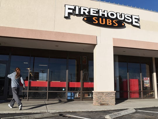 Firehouse Subs at 3030 E. Main St. in Farmington is scheduled to open on Monday.