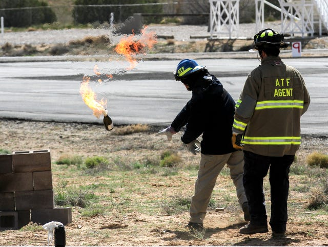Ka-Boom! Police learn about explosives by detonating them