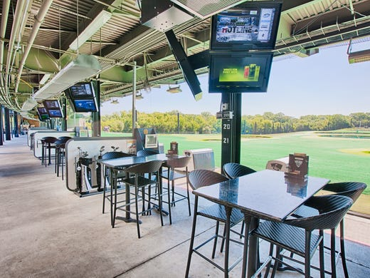 Topgolf review: Fun games, surprisingly good food