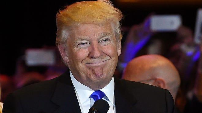 Presumptive Republican presidential nominee Donald Trump.