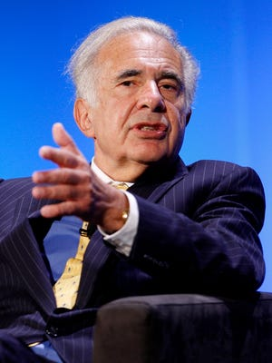 Carl Icahn, a billionaire investor, speaks during the World Business Forum in New York, U.S., on Thursday, Oct. 11, 2007.