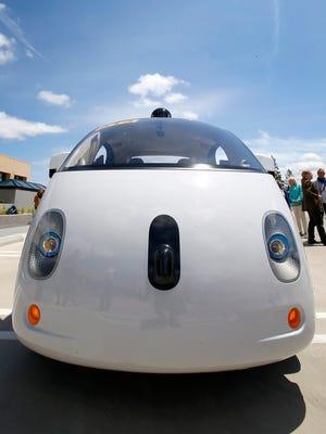 Google's new self-driving prototype car built in Livonia