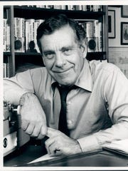 Morley Safer, Canadian reporter and Correspondent for CBS News.