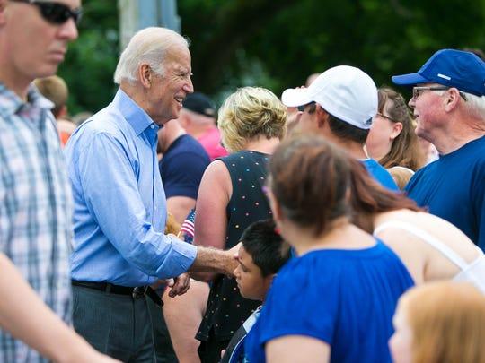 Amid threat of rain, Biden returns for July Fourth parade