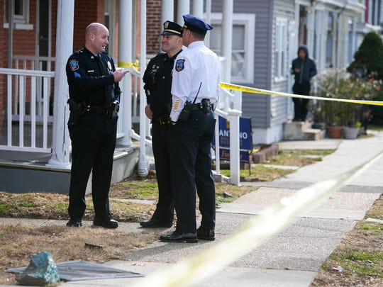 Wilmington police are on scene Tuesday morning in the 200 block of W. 30th Street after  gunfire breaks out.