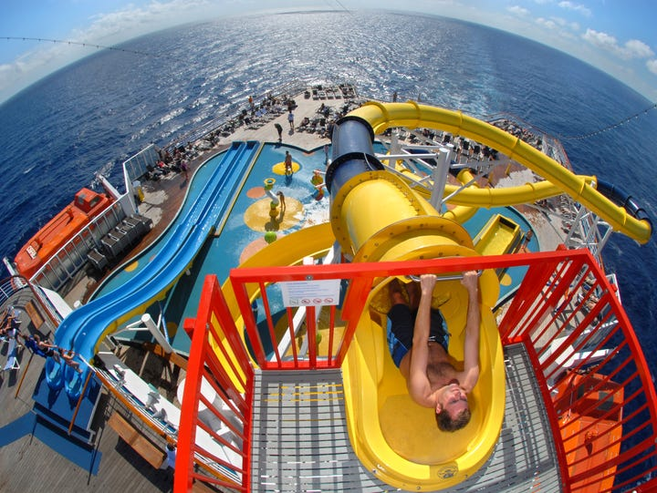 Carnival Cruise Line's Carnival Inspiration features