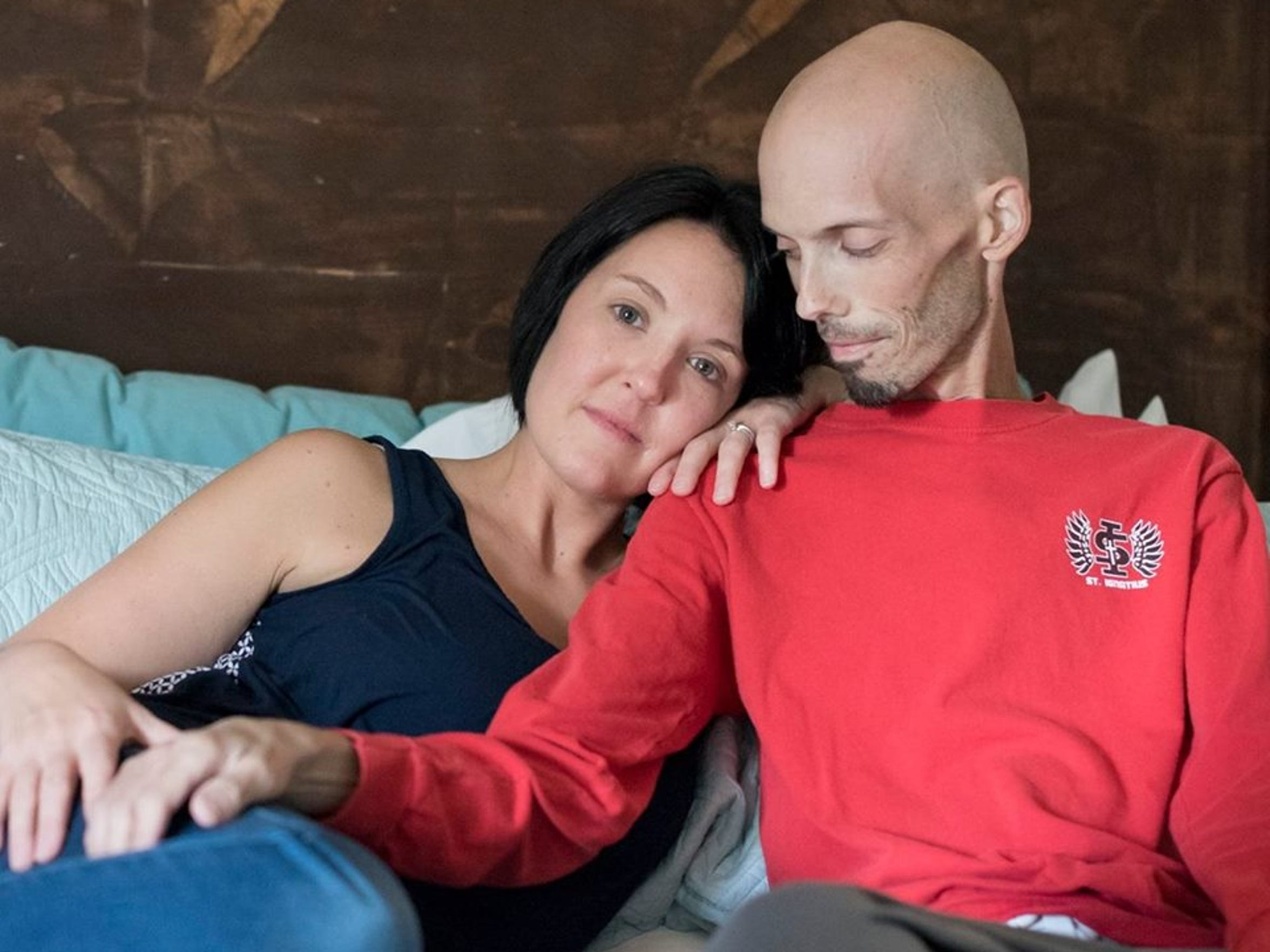 Widow finds love after husband's death from cancer