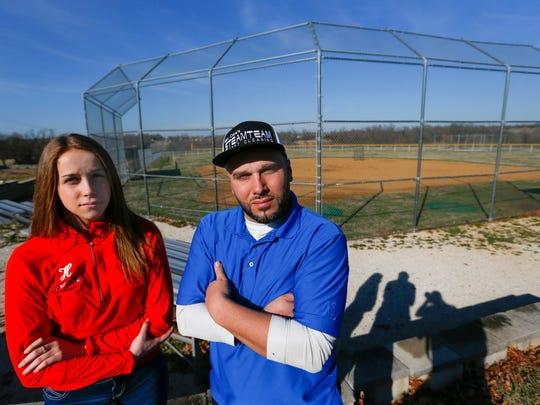 Haley Frillman, a Hillcrest High School softball player,