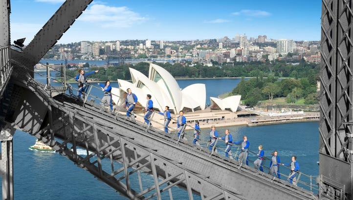 Sydney's BridgeClimb offers what is probably the best view of the harbor.