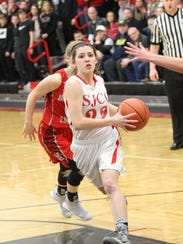 SJCC's Miranda Wammes scored 15 points Saturday.