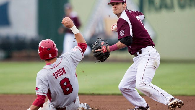 Missouri State shortstop Joey Hawkins said a consistent approach — home or away — has been a key to the Bears' 10-game road winning streak.