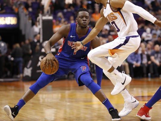 Pistons Suns Basketball