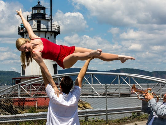 Westchester Circus Arts Co-director Hillary Sweeney