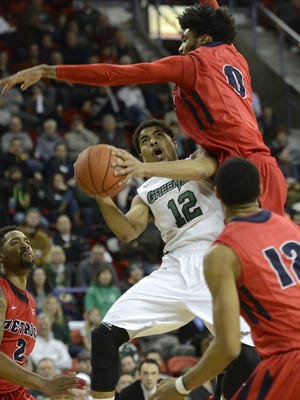 UWGB guard Carrington Love leads the team in scoring as a senior.