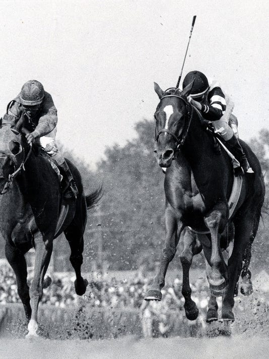 AFFIRMED AND ALYDAR 1978 Kentucky Derby