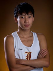 All-Metro Cross Country Athlete of the Year Won Heo,