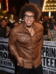 Jake Clemons arrives at 'Springsteen On Broadway.'