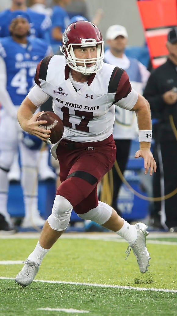 New Mexico State quarterback Tyler Rogers said the Aggies need to have success throwing the football in order to upset Arizona State on Thursday.