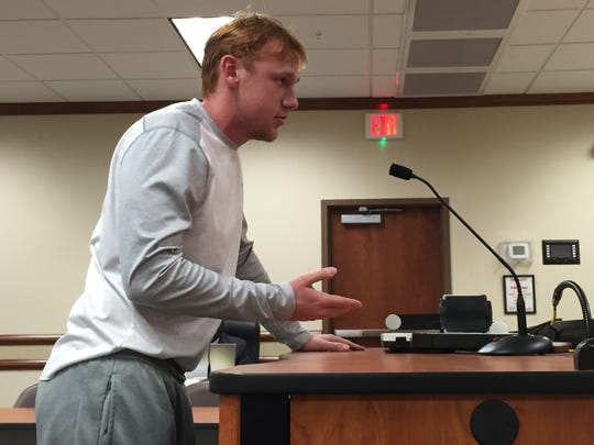 Neville High School sophomore Ryan Jones asked the Monroe City School Board on Thursday asked the board if it was for the public or its own personal agenda.