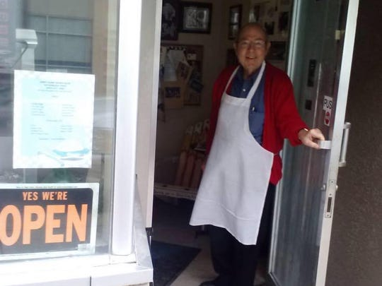 The late Steve Margeas of Coney Island hot dog restaurant in Sioux City, Iowa.