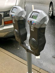 The city of Asheville is replacing its old parking