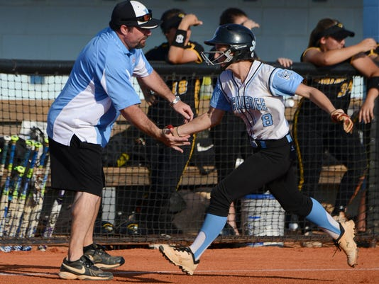High School Softball: American Heritage at Rockledge
