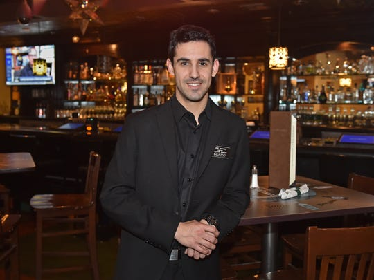 Danial Martinez stands inside the Cantina where he is the assistant manager at Grand Sierra Resort Casino on Jan 11, 2016