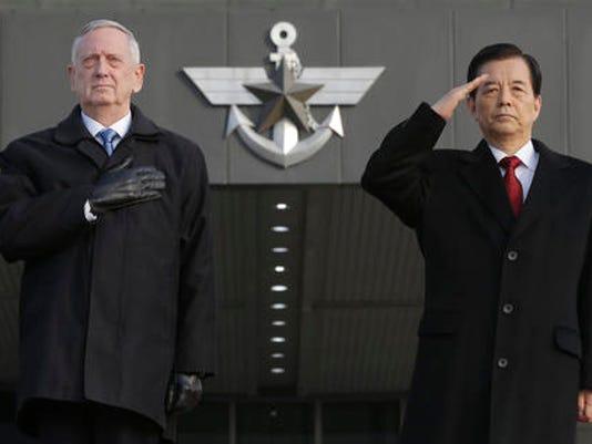 Jim Mattis, Han Min Koo