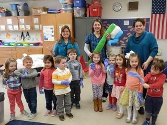 Brown Family Dentistry recently visited the preschool