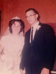 Mr. and Mrs. Jimmie Hood -- 1964
