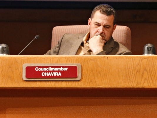 Glendale City Councilman Sammy Chavira